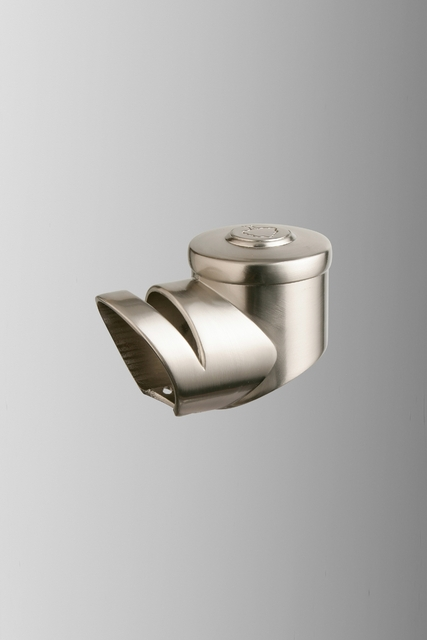 Axxys Brushed Nickel Landing Handrail Connector