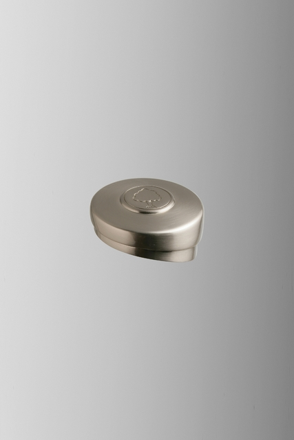 Axxys Brushed Nickel Round Newel Cap