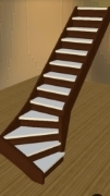 Softwood single turn Staircase