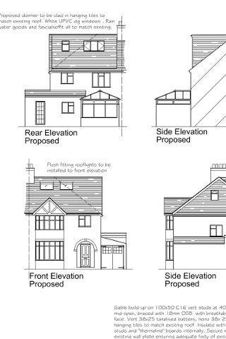 Full survey, plans and drawings DEPOSIT